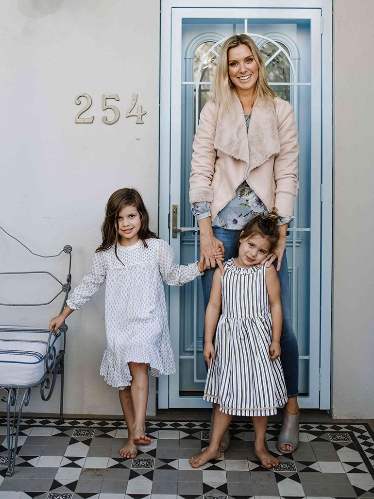 b0cc404be28 We sat down with The Grace Tales Editor Georgie Abay to talk her plans for  Mother s Day and how she is raising her two daughters to live happy