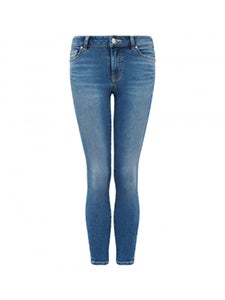 Poppy Mid Rise Ankle Grazer Jeans